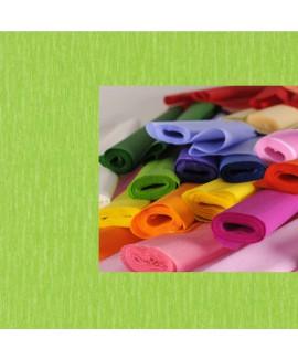גליל נייר קרפ ירוק