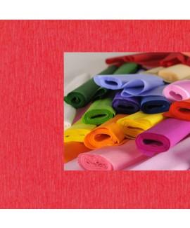 גליל נייר קרפ אדום