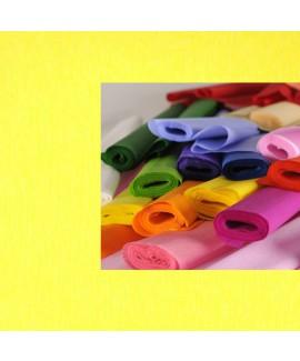 גליל נייר קרפ צהוב