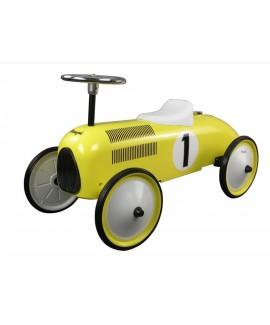 מכונית בימבה רטרו צהוב