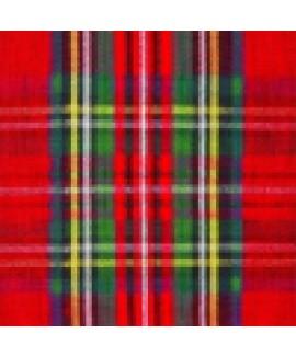 מפיות נייר משבצות סקוטיות