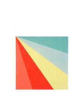 מפיות גדולות גלגל הצבעים - Meri Meri