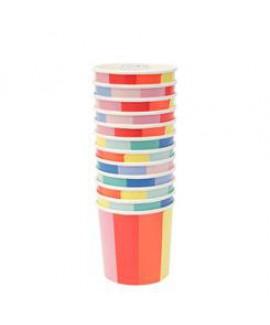 כוסות קטנות גלגל הצבעים - Meri Meri