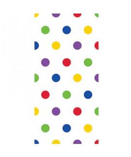 שקיות יום הולדת ניילון נקודות צבעוניות