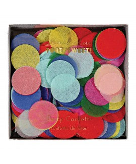 קונפטי עיגולי נייר צבעוניים - Meri Meri