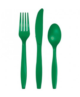 """מארז סכו""""ם פלסטיק ירוק אמרלד"""