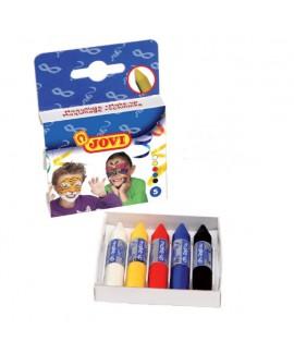 חמישה עפרונות איפור לפנים