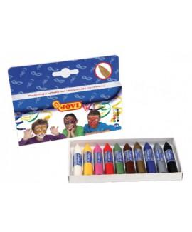 עשרה עפרונות איפור לפנים
