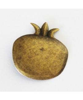 חבק קליפס רימון זהב עתיק