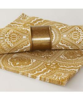 חבק טבעת זהב מט