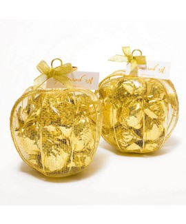 תפוח רשת זהב במילוי שוקולד - לראש השנה