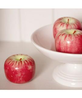 תפוח אדום דקורטיבי לקישוט שולחן החג