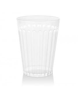 כוסות פסים שקופות