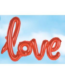 בלוני Love אדומים