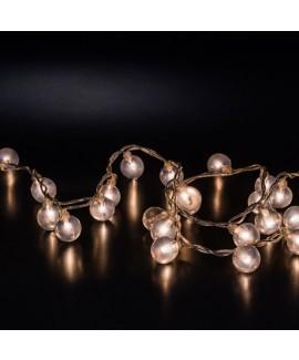 שרשרת אורות- כדורים