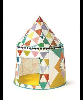 אוהל צבעוני