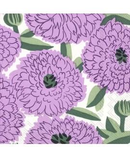 מפיות מרימקו- פרחים סגולים
