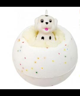 פצצת אמבטיה+ צעצוע כלב