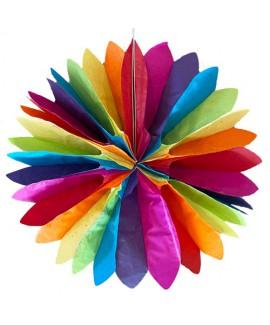 סט 4 מניפות נייר צבעי גאווה