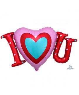 בלון I LOVE YOU