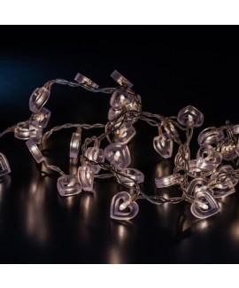 שרשרת אורות- לבבות חלולים