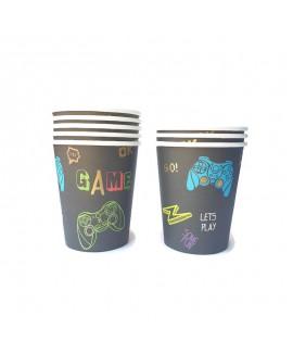 כוסות נייר גיימינג