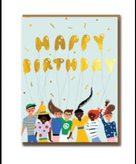 כרטיס ברכה יום הולדת- אנשים