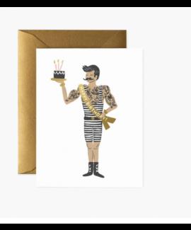 כרטיס ברכה יום הולדת - איש