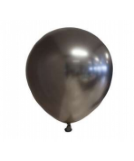 שישיית בלוני גומי כרום שחור טיטאניום- ללא ניפוח