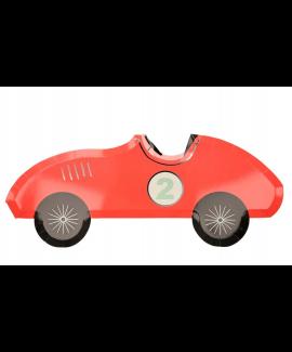 צלחות נייר בצורת מכונית מירוץ- meri meri
