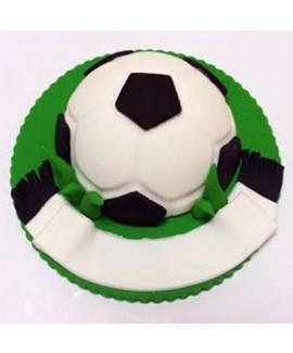 טופר בצק סוכר לעוגה כדורגל
