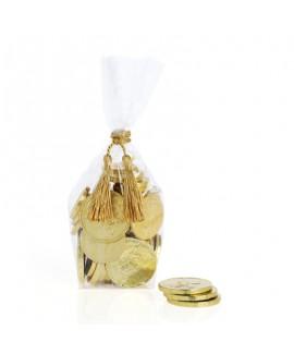 250 גרם מטבעות שוקולד לחנוכה- זהב