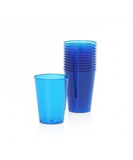 כוסות פלסטיק קשיח- כחול