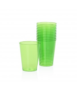 כוסות פלסטיק קשיח- ירוק