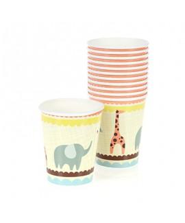 כוסות נייר חיות - meri meri