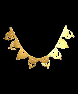 באנר מספרים הרכבה עצמית זהב