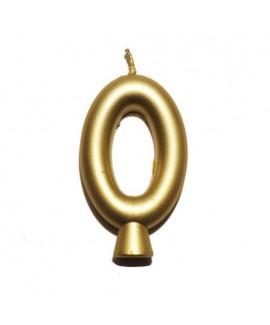 נר הספרה אפס - זהב