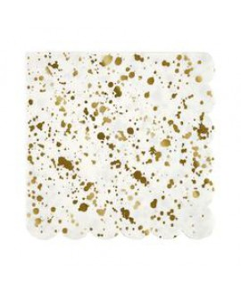 מפיות גדולות הטזות זהב מבית Meri Meri