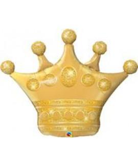 בלון הליום ענק כתר זהב