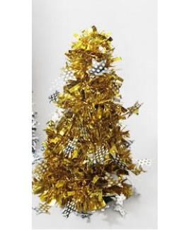 עץ אשוח זהב קטן