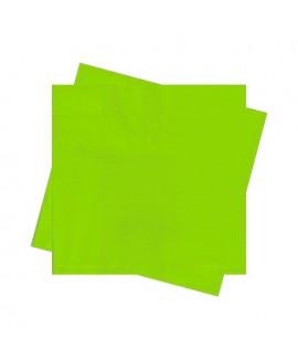 מפיות גדולות בצבע ירוק