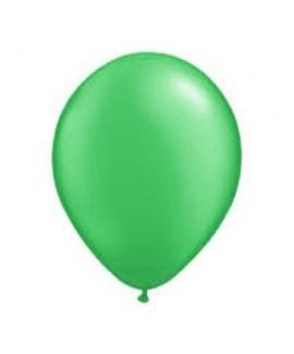 10 בלונים בצבע ירוק- ללא ניפוח