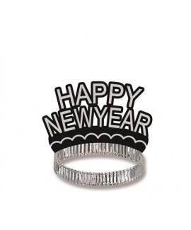 מארז 3 קשתות Happy New Year - כסף