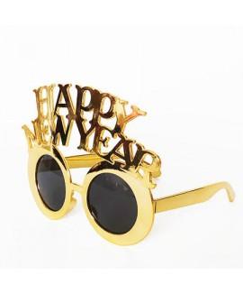 משקפי זהב Happy New Year