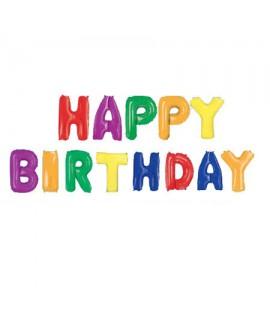 בלוני צבעוניים Happy Birthday
