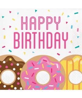 Happy Birthday מפיות גדולות דואנטס