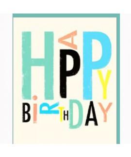 כרטיס ברכה יום הולדת