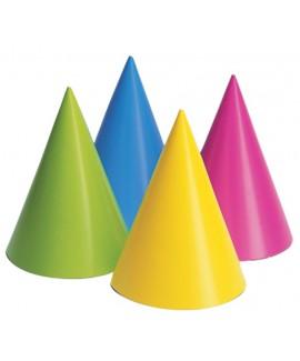 מארז כובעים בצבעי נאון