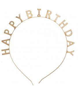 קשת Happy Birthday קשיחה לראש