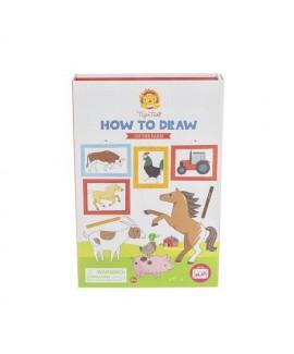 איך לצייר- חווה
